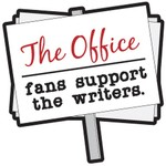 The Office Fans Support the Writers