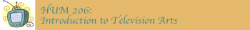 Introduction to Television Arts