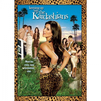 The cover of Keeping Up with the Kardashians Season One DVD set