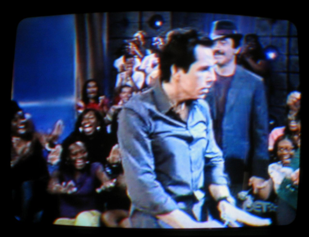 Downey mimicking Stiller on 106th and Park