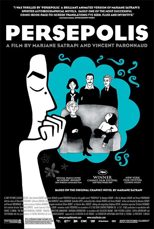 Before becoming an award-winning film, Persepolis was an acclaimed graphic novel.
