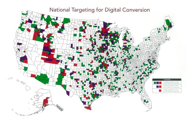 National Targeting for Digital Conversion