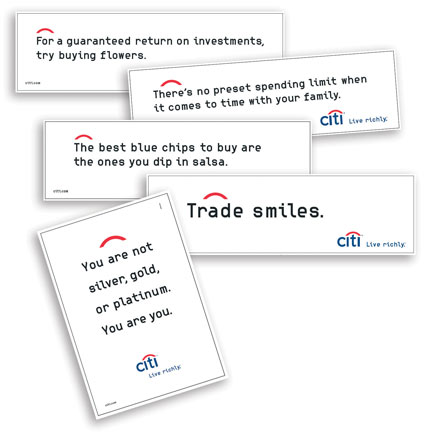 Citibank Ads
