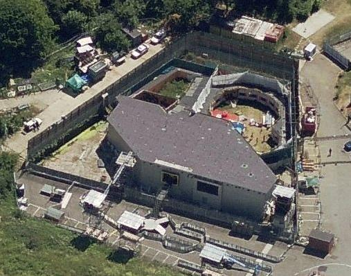 Bird's Eye view of the Big Brother House