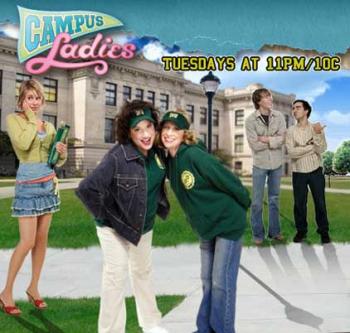 the cast of Campus Ladies