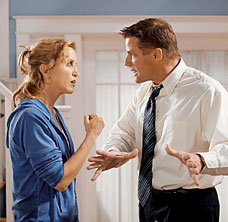 Tom and Lynette fighting