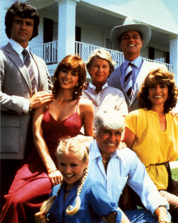 The cast of Dallas