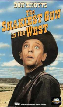 Don Knotts in Shakiest Gun in the West