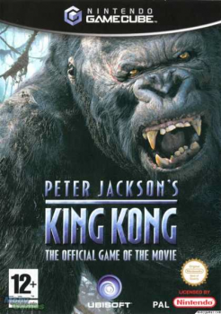 King Kong Game Cover