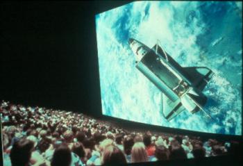 Shuttle on IMax