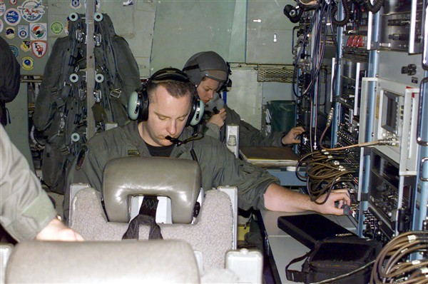The Air Force training for transmissions