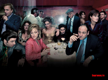 The Sopranos Dinner Table