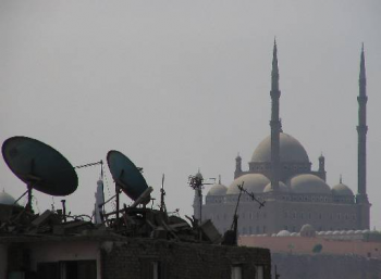 Dishes and Mosque