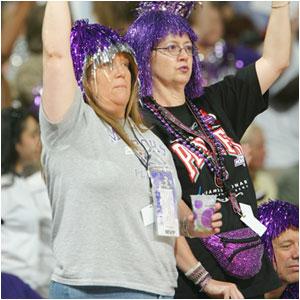 Avid WNBA fans