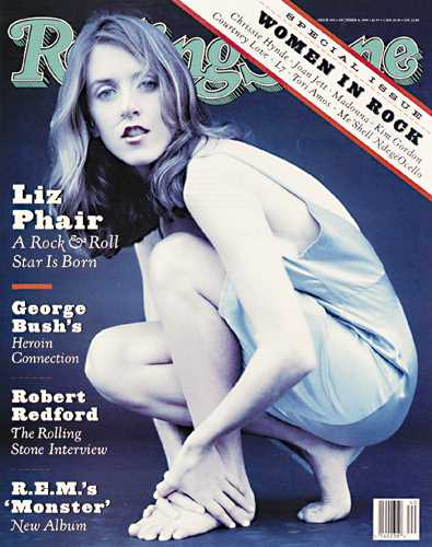 Liz Phair on the cover of Rolling Stone