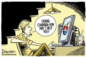 Political Cartoon by Lisa Benson