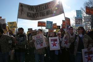 Anti-war March, Washington DC