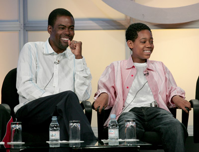 Chris Rock and Tyler James Williams