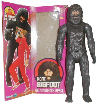 1970s Bionic Bigfoot action figure by Kenner