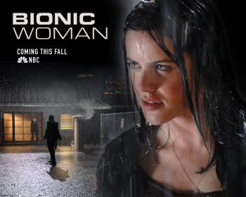 Promoting Bionic Woman's first showdown