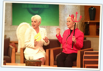 Marta Susana y Cristina en El Show de Cristina