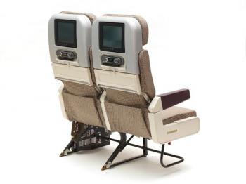 PearsonLloyd's economy class seat design