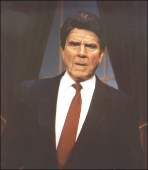 Rich Little as Pres. Reagan