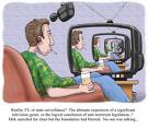 Reality Surveillance Cartoon