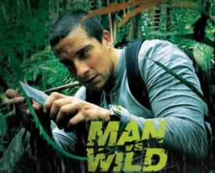 Bear Grylls in Man vs. Wild