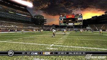 Steelers vs. Seahawks in Madden