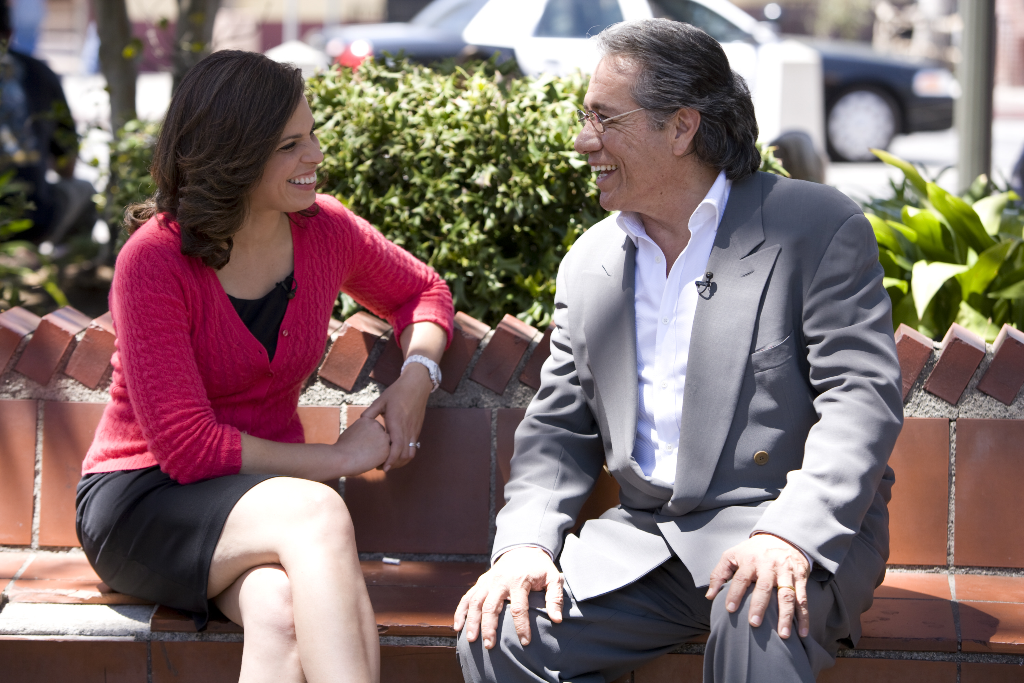 Soledad O'Brien interviews Edward James Olmos