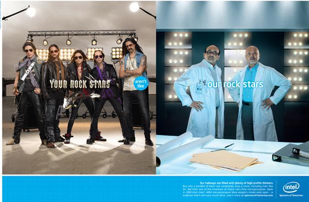 Intel rockstars ad