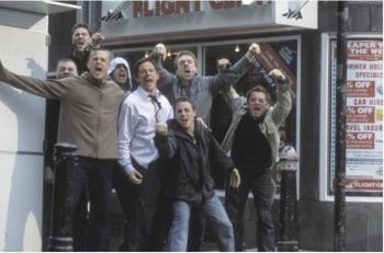 Still from Green Street Hooligans, starring Elijah Wood (2005)