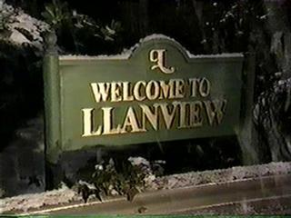 Welcome to Llanview Sign