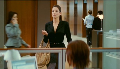 "Sandra Bullock as ""monster"" Margaret Tate in The Proposal."