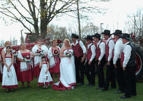 Redneck wedding sex