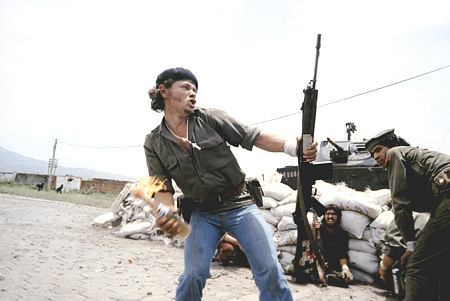 Photo by Susan Meiselas from her book Nicaragua
