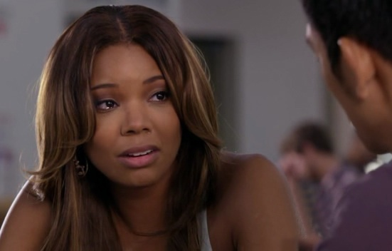 Zoe's disbelief upon hearing that Demetri slept with Janis.