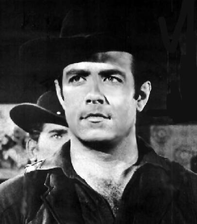Pernell Roberts as Adam Cartright on Bonanza