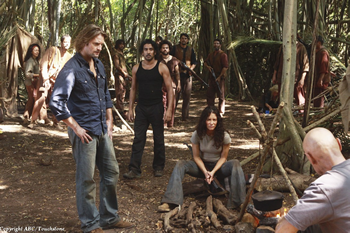 Promotional still from the sixth season of Lost