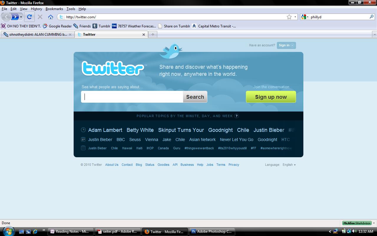 Twitter screencap