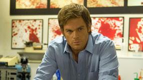 Dexter in his laboratory