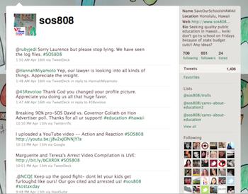 Twitter sos808
