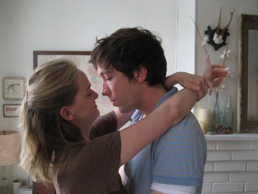 Jess Weixler and Justin Rice in Alexander the Last
