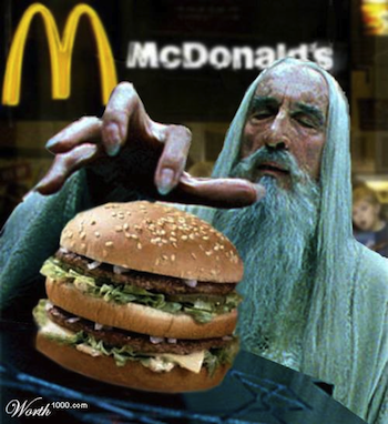 Saruman Big Mac