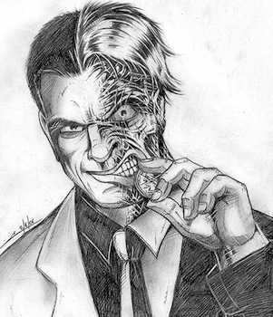 Fan art: Two-Face