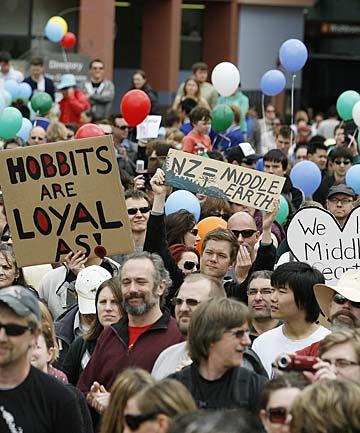 Hobbit Protest