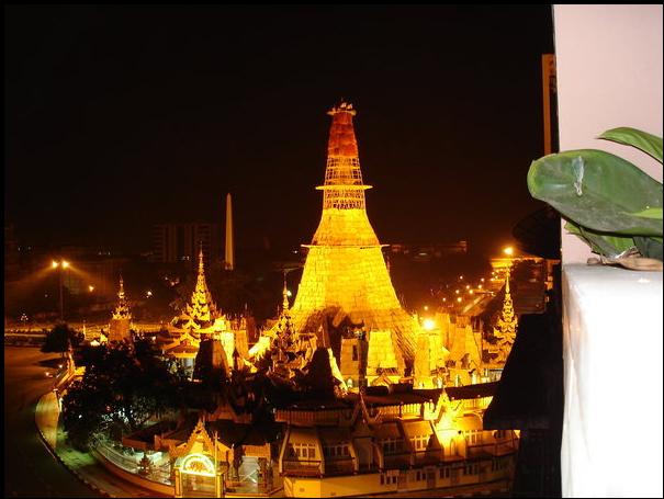 Yangon Burma Myanmar Stupa