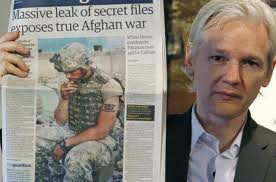 Assange Displays Old Media