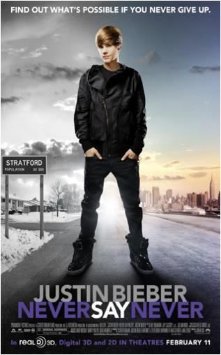 Bieber publicity photo